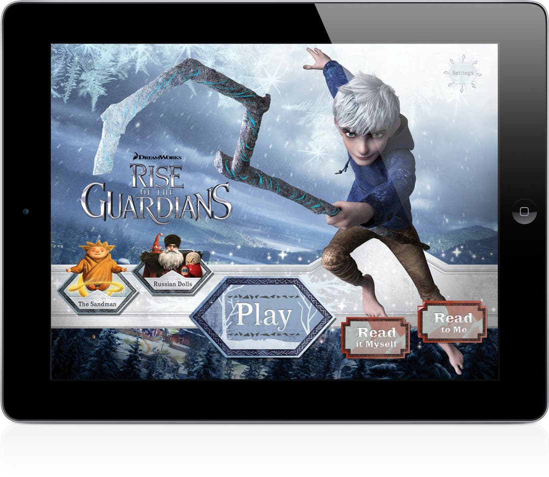 iStoryTime Launches Rise of the Guardian Storybook App on the App Store