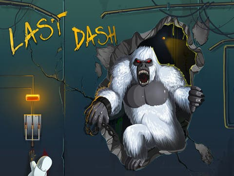 Last Dash HD 1.0 for iOS – Monster Gorilla Freed: Help Him Escape City