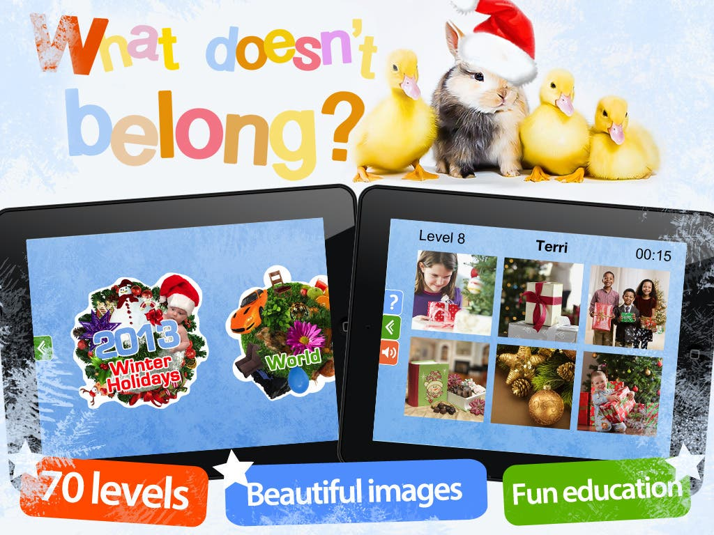 Educational Game App for iPad and iPhone Aimed at Empowerment of Kids