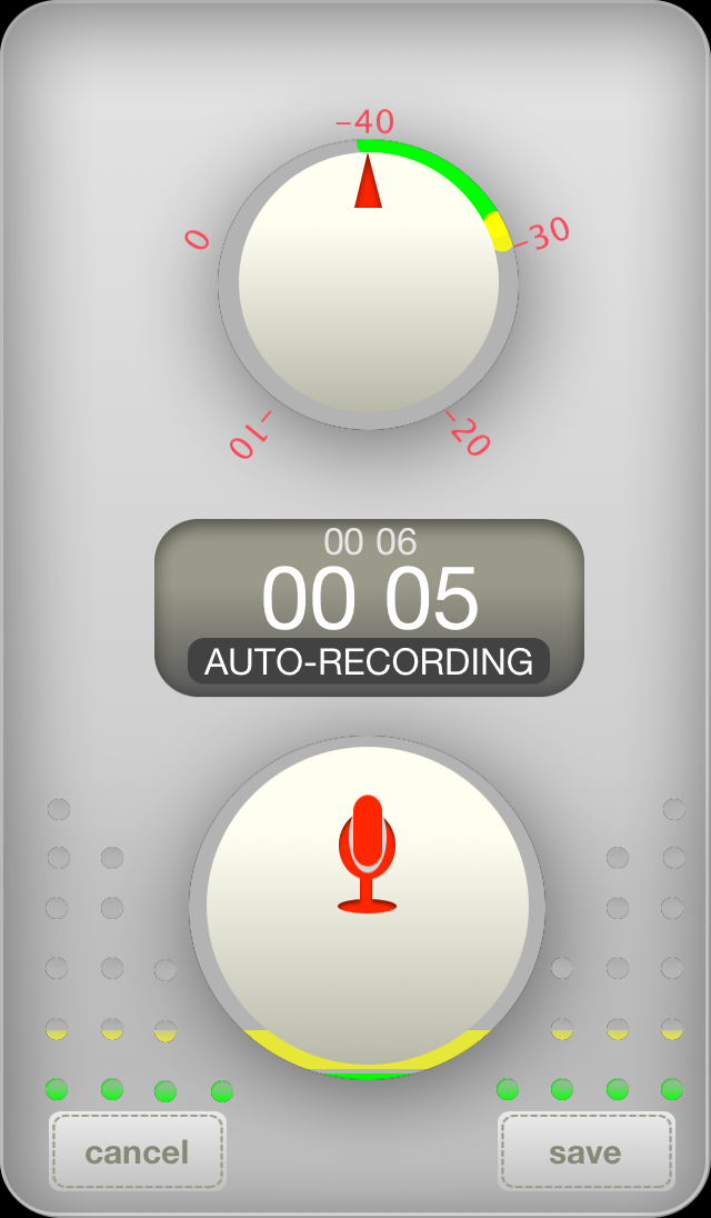 Dieter Rams Design Principles used to create Audio Recorder App - Rcrdr