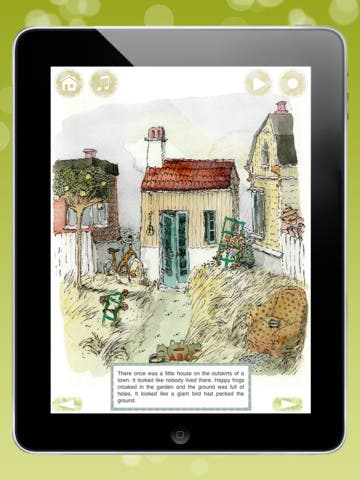A Baby for the Storks - Children's Application for iPad and iPhone