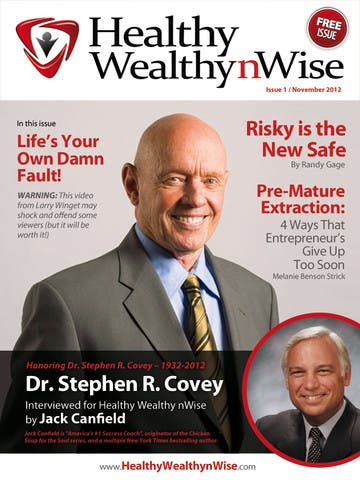 Healthy Wealthy nWise Debuts On iPad To Bolster New Year Resolutions