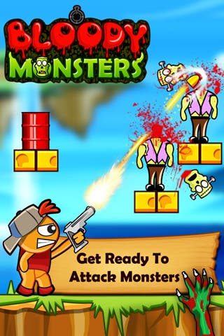 RV AppStudios Releases New Game Bloody Monsters For iPhone and Android