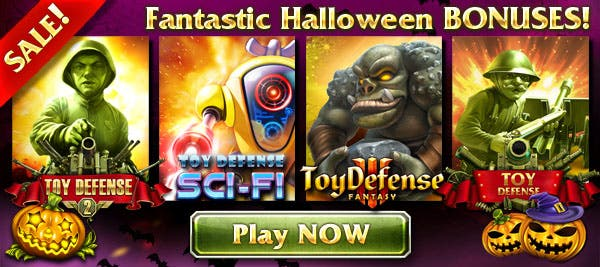 Melesta Games introduces Halloween sale and updates to Toy Defense