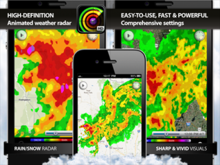 Radar MAX: new high-resolution NOAA weather radar for iPhone and iPad