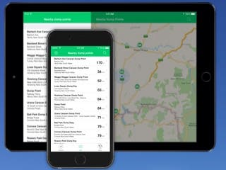 Caravan Helper: Australia for iPhone and iPad is Now Available