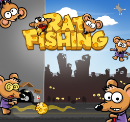 Rat Fishing 1.0 for iOS - Kill Rats in Extremely Challenging Puzzle Game