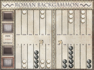 Roman Backgammon Summer Sale - July 24 and July 25