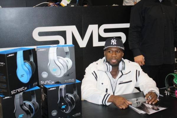 SMS Audio Street Series by 50 Cent