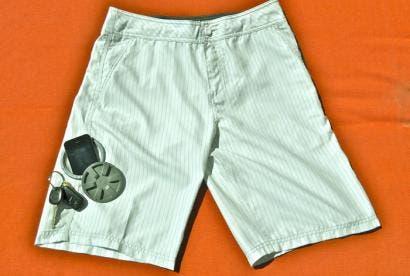 Stash waterproof pocket shorts