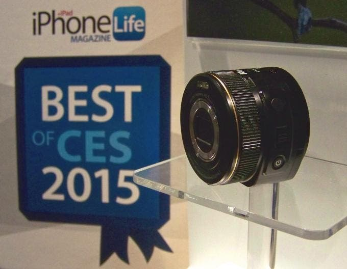 Kodak's SL5 Turns Your iDevice into an HD Camera, Wins iPhone Life's Best of CES