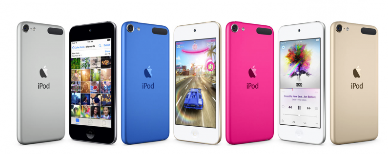 iPod touch colors