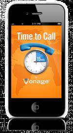 Vonage Time to Call App