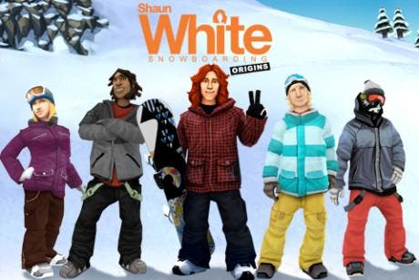 Shaun White Origins for the iPhone