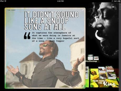 Siva's App Reviews: Snoop Lion Reincarnated