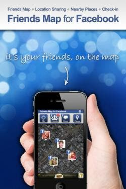 Friends Map for Facebook iPhone app review