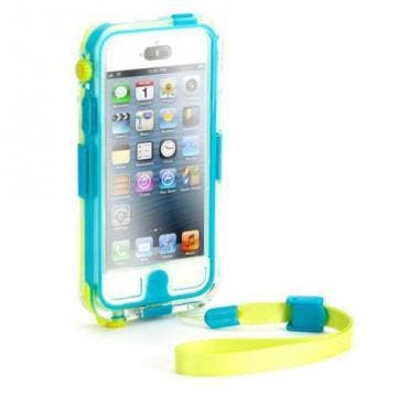 Griffin Survivor + Catalyst Waterproof Case for iPhone 5 Turquoise