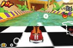 Screenshot of Crash Bandicoot on iPhone 2.0