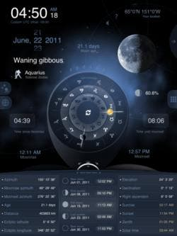 full moon hd iPad app review