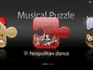 Musical Puzzle HD iPad app review