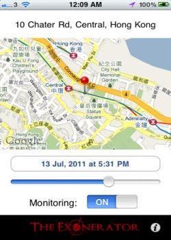 Exonerator iPhone app review