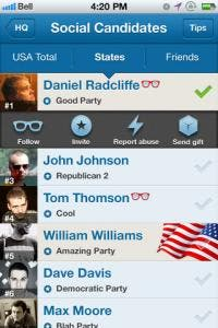 voteme iPhone app review