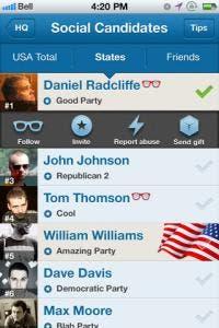 voteme iPhone app review