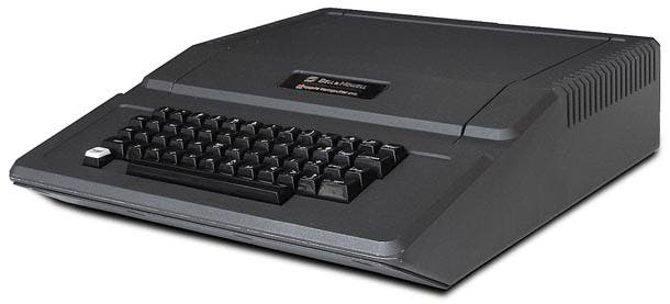 Apple II Bell & Howell