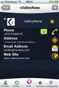 call my name for iPhone