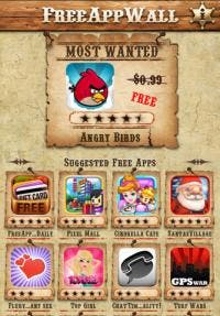 FreeAppWall iPhone app review