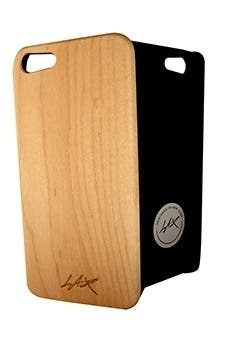 LAX Gadgets wood case with polymer lining