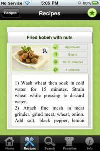 Manal AlAlem Kitchen iPad app review