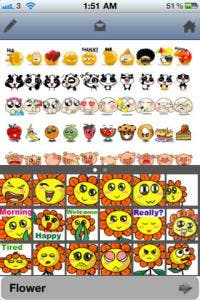 AniEmoticons iPhone app review