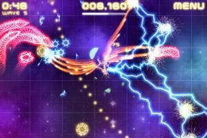 violet storm for iPhone