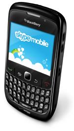 Skype Mobile on a Blackberry