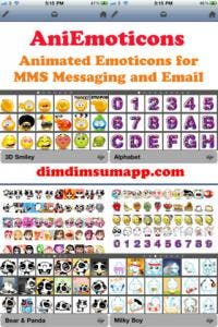 AniEmoticons for iPhone