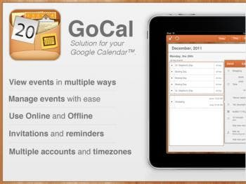 gocal for google calender app review