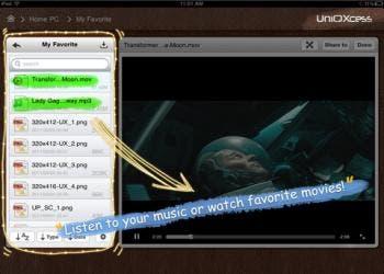 UniQXcess for iPad