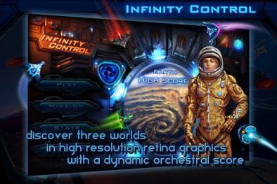 Infinity COntrol iPhone app