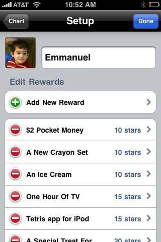 iRewardChart rewards