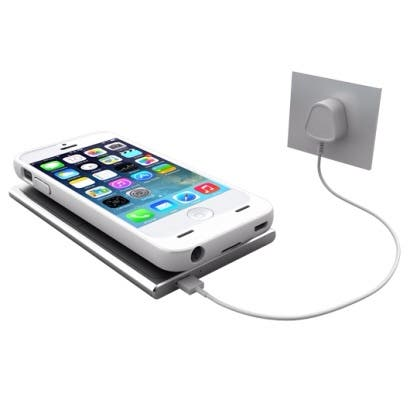 Unu Aero Wireless Charging Case with magnetic charger