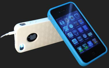 MoonSkins glow-in-the-dark iPhone case