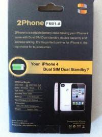 2Phone rear