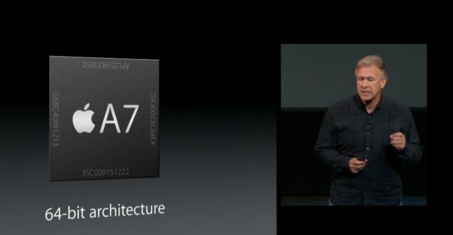 A7 64 bit CPU