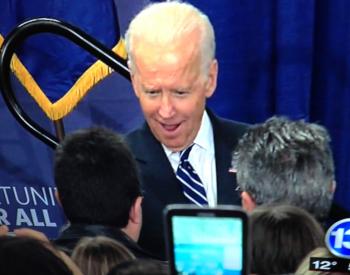 Joe Biden at MCC