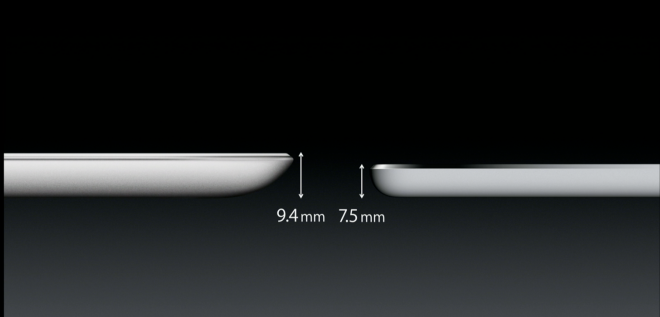 Thinner iPad Air