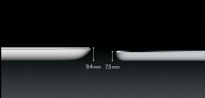 Thinner iPad Air