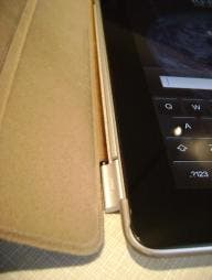 iPad 2 aluminum hinge