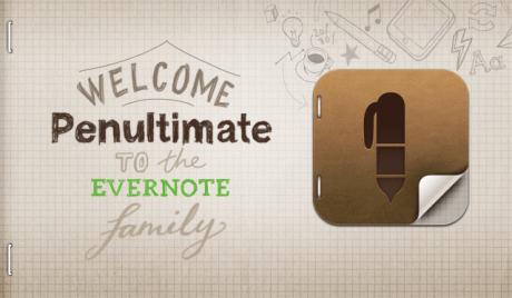 Evernote's Penultimate Welcome Sketch