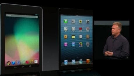 Apple's iPad mini event